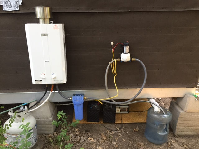 Image Result For Propane Shower With Pump